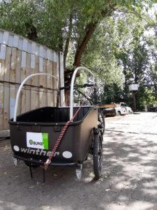 Gut für die Mukkis und die Umwelt: Kleintransporte per Lastenrad (c) clubliebe e.V./BUND Berlin e.V.
